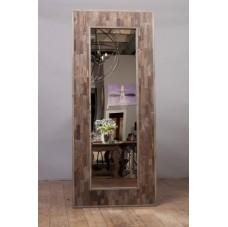 Зеркало Wood natural mosaic mirror