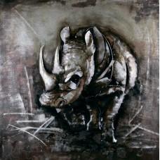 Картина «Savannah rhino»