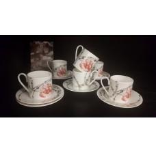 Кофейные чашки с блюдцами Blumarine